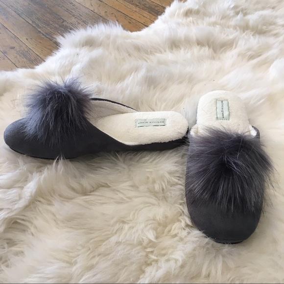 ae4b8cd57 Patricia Green Pretty Pouf Slippers in Grey